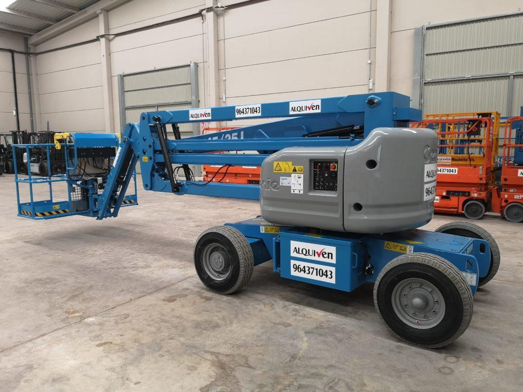 alquiler plataformas articuladas eléctricas y diesel castellon